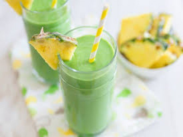 Green pineapple smoothie : Healthy Soup Recipes That Will Help You Lose Weight