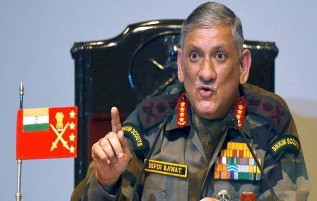 चीन के साथ बातचीत नाकाम होने पर सैन्य विकल्प मौजूद हैं :  जनरल बिपिन रावत