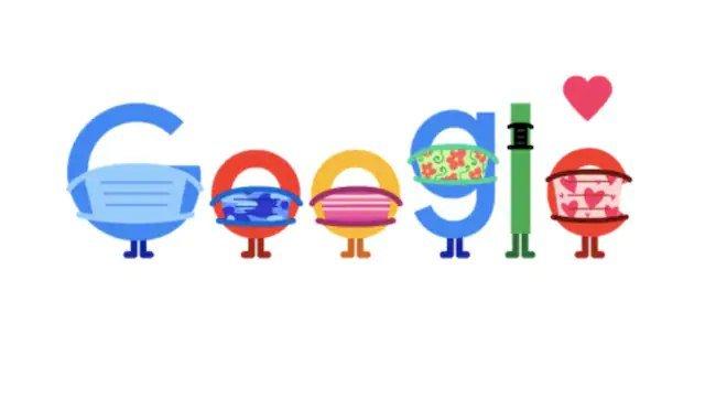 Google Doodle : कोरोना काल में Google ने Doodle से दिया लोगों को अनोखा संदेश