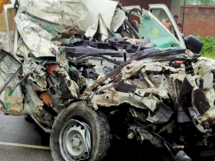 प्रतापगढ़ में दिल दहला देने वाला हादसा, बारातियों से भरी बोलेरो ट्रक से टकराई, 14 की मौत