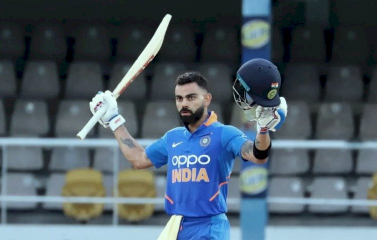 भारतीय कप्तान विराट कोहली ने 11 साल पहले आज के ही दिन  इंटरनेशनल क्रिकेट का पहला शतक जड़ा था, विराट को T-20 रैंकिंग में एक स्थान का फायदा