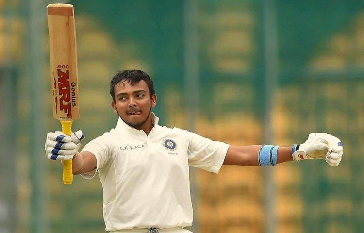 Vijay Hazare Trophy: पृथ्वी शॉ ने जड़ा दोहरा शतक, मुंबई ने पांडिचेरी को दी मात