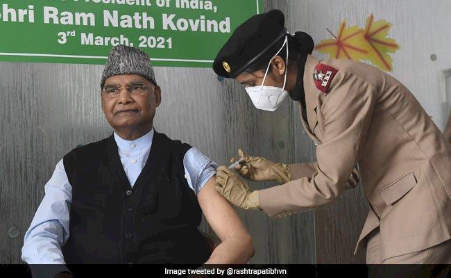 टीकाकरण अभियान के दूसरे चरण में राष्ट्रपति रामनाथ कोविंद ने लगाई Vaccine, जानिए क्या कहा...