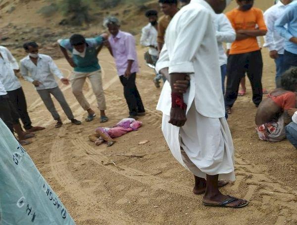 45 डिग्री तापमान में 25 KM पैदल चली, पानी न मिलने से 6 साल की बच्ची की मौत