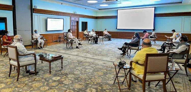 Central cabinet meeting : MSP को लेकर मोदी सरकार ने की बड़ी घोषणा, अब 4G पर दौड़ेगी रेलवे